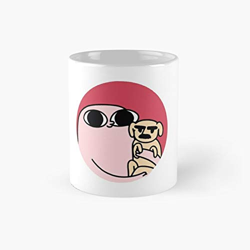Ketnip With Dog Classic Mug For Mum, Dad, Mothers Day, Fathers Gift For Her, Him, Best Funny Coffee Mugs 11 Oz