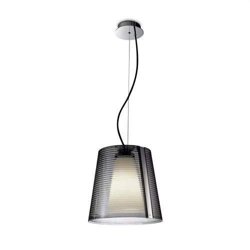 LEDS-C4 Emy – luminaire pied PL E27 30 W Chrome