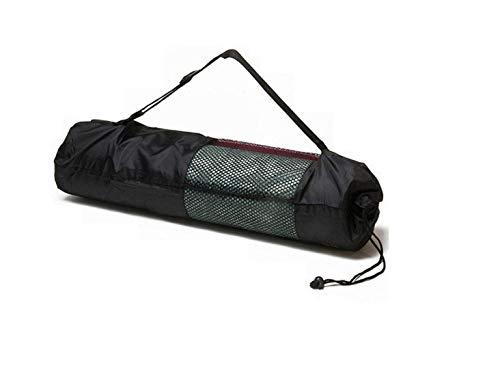 Ducomi Bolsa para esterilla de yoga con correa ajustable, impermeable, bolsa para esterilla de yoga y pilates, bolsa funcional para esterilla de yoga, regalo para mujer (90 x 30 cm)