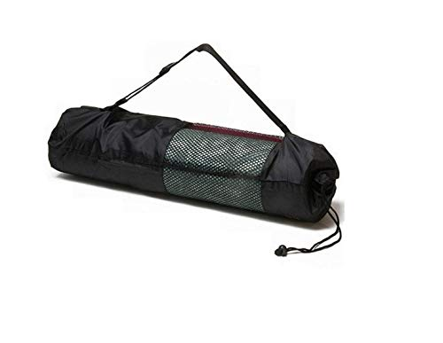 Ducomi - Bolsa para esterilla de yoga con correa ajustable, impermeable – Bolsa para alfombra de gimnasio y pilates – Bolsa funcional para colchonetas de yoga, regalo para mujer (90 x 30 cm)