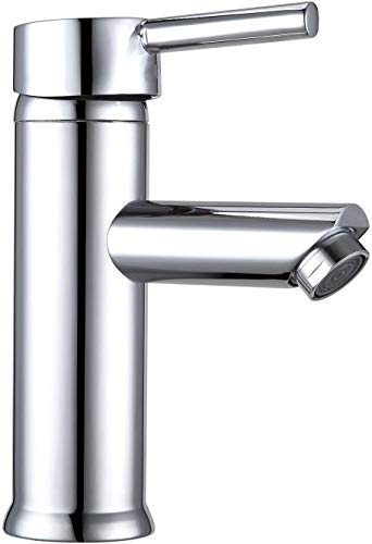 YOUCHENG grifo de baño exquisito grifo del lavabo, sola manija caliente y fría agua lavabo grifo para inodoro y baño fregadero