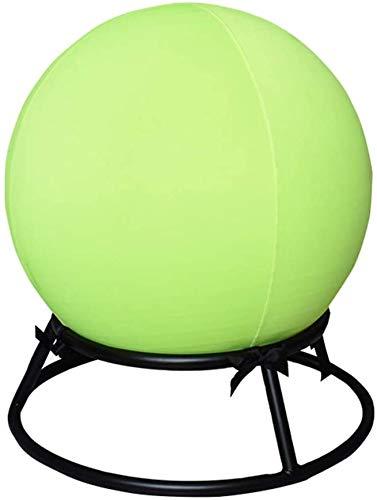 Knoijijuo Yoga Ball Stuhl Premium Übung Stabilität Ergonomischer Stuhl Fitnesshocker Mit Gymnastikball, Fitnessball, Ballhocker, Sitzalternative