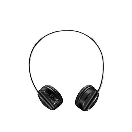 Rapoo H6020 Wireless Bluetooth Headphone Headset Dual Mode Hi-Fi Earphone(Black)
