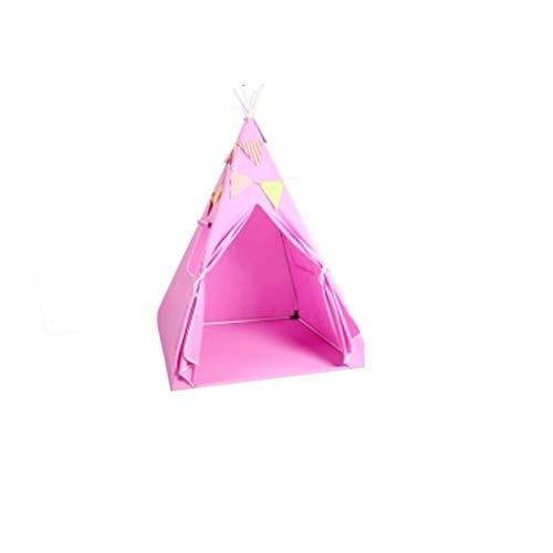 Tents Wasserdicht Kinderzelt, Junge Vierecke Zelt Girls' Spiel-Zelt/Bottom Größe: 100 * 100 cm/for Innen/Außen (Color : B, Size : 100 * 160cm)