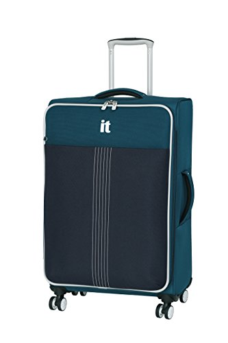 it luggage Filament 8 Wheel Lightweight Semi Expander Medium Suitcase, 70 cm, 88 L, Louisianan Blues