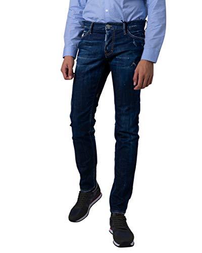 DSquared Jeans Homme Denim s71lb0630 52 (XL) Bleu