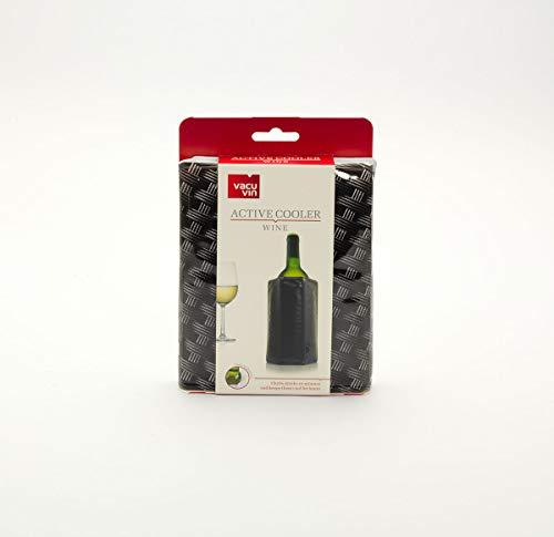 Vacu Vin 38803606 Rapid Ice Wine Cooler - Silver