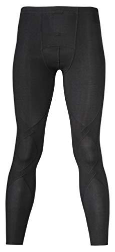 [シーダブリューエックス] スポーツタイツ エキスパートモデル ソフトタイプ・前開き (ロング丈) 吸汗速乾 UVカット ストレッチ メンズ HCO779 BL 日本 M (日本サイズM相当)