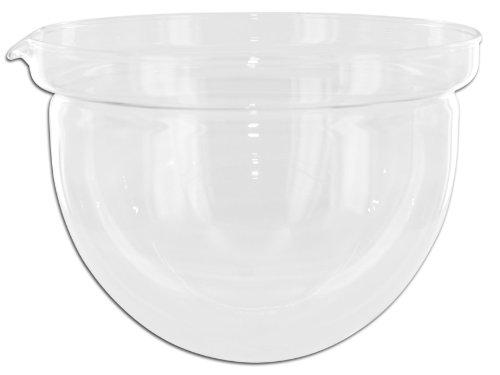 mono filio Ersatzglas, Edelstahl, 14,6cm