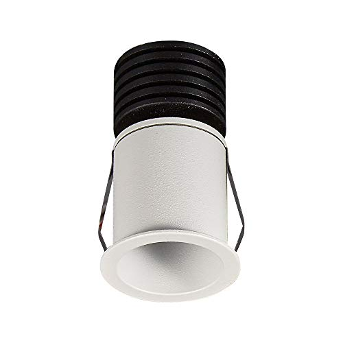 Inspired Mantra - Guincho - Foco Empotrable, LED 3W, 4000K, 210lm, Blanco Arena