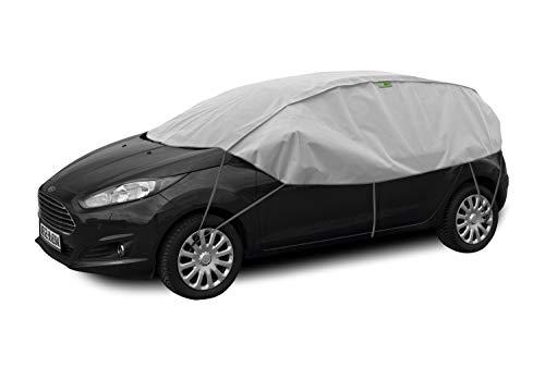 Winter S-M Schutzplane Sonnenplane Schutz vor Sonne und Frost geeignet für Opel Corsa D 2006-2014 Halbgarage