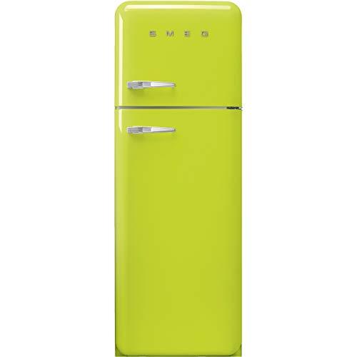 Smeg FAB30RLI3 frigorifero con congelatore Libera installazione Lime 294 L A+++