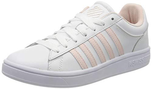 K-Swiss Damen Court Winston Sneaker, Weiß (White/Pearl 104), 40 EU