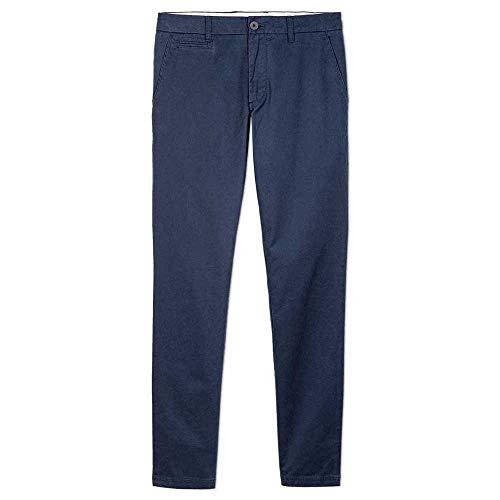 OxbOw M2REANO Pantalon Chino Homme, Deep Marine, FR : 2XL (Taille Fabricant : 36)