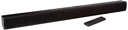 "AmazonBasics 31"" 2.0 Channel Bluetooth Sound Bar with Dual Neodymium Magnet Speakers"