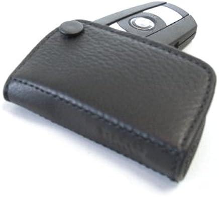 82292344033 RRP £36.30 BMW Key Holder Fob Leather Case Luxury Black