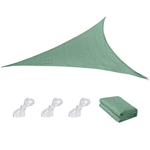 SuperSU Outdoor-Lieferungen Einfarbiges Sonnenschutz-Tuch, Gleichseitig Dreieckige Sonnenschutz-Markise, Outdoor Wasserdichter Vorhang Aus Oxford-Stoff