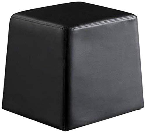 Wink design - Huntsville - Pouf - simili-cuir - noir