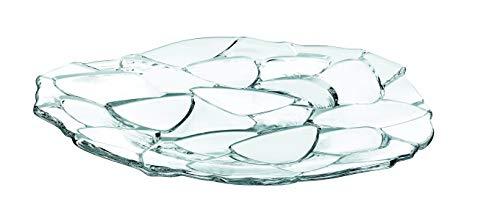 Spiegelau & Nachtmann, Platzteller, Kristallglas, Petals, Größe: 32 cm, 0093622-0