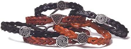 Celtic Spirit Leather Wristlet (1 Supplied)