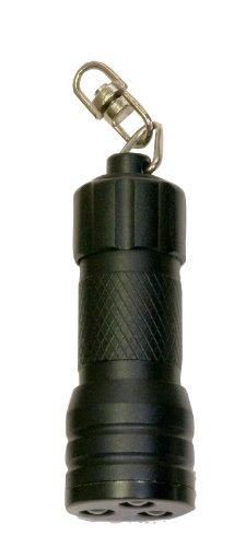True Utility TU83BLK Mirco Lite Lampe compacte 3 LED Noir