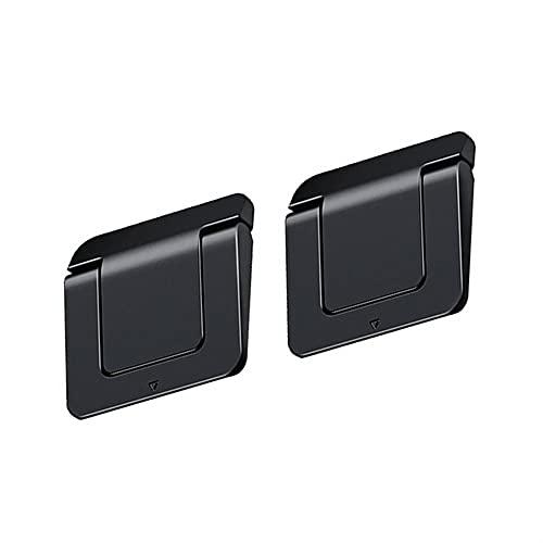AJMINI 2pcs portátil invisible titular del ordenador portátil, soporte universal de enfriamiento para portátil, soporte multifuncional plegable para portátil