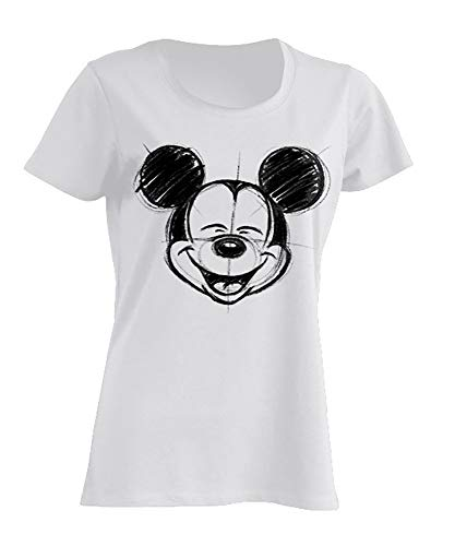 Disney Disney Damen T-Shirt Mickey Mouse S