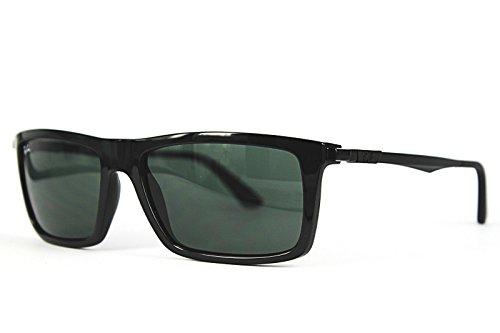 Ray-Ban Gafas de sol RB4214 Black/Green, 59 mm