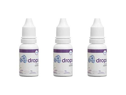3 E-Drops, Elentillas, Gotas Oftalmológicas, Hidratación, Lubricación, Ácido Hialurónico, Irritación Ocular, Multidosis 10 ml, Pack de 3 (3)