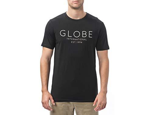Globe Company Tee II T-Shirt, Homme XXL Noir