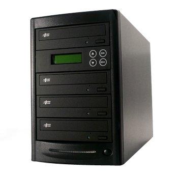DVDデュプリケーター R3-LB+HDD(LG搭載) 日本語表示 3シリーズ(1:4)DVD/CDコピー機