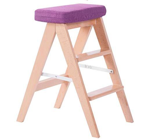 QIDI Kruk Stap Ladder Huishoudelijke Vouwstoel Multifunctionele Planken