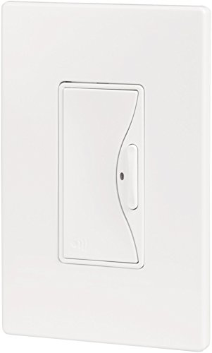 Cooper Wiring Devices RF9500AW Aspire RF Battery Operated Switch/Dimmer, Alpine White