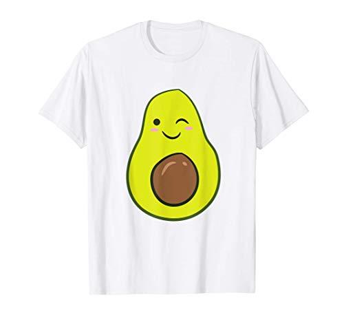 Lindo Aguacate Disfraz de Halloween Niños Aguacate Camiseta