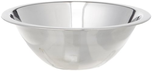3/4-Quart Wide Rimmed Stainless Steel Mixing Bowl