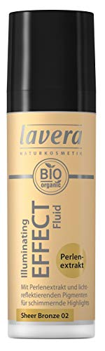 Lavera Illuminating Effect Fluid -Sheer Bronze 02 (1x 30 ml), 1 Stück