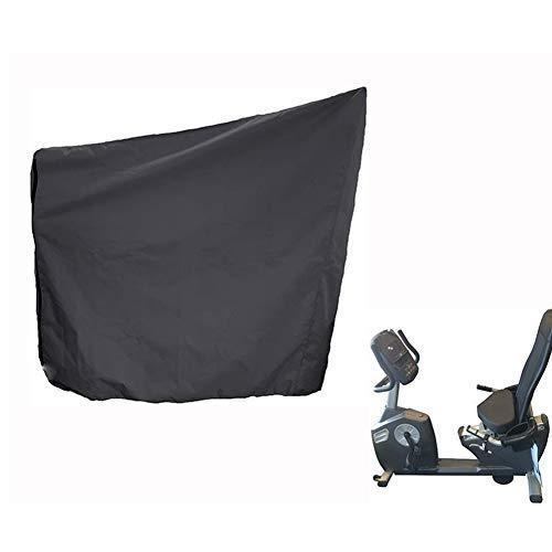Cubierta para bicicleta estática para interior y exterior,
