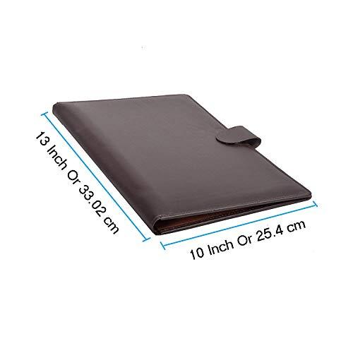AmazingHind Conference Folder. Leatherit