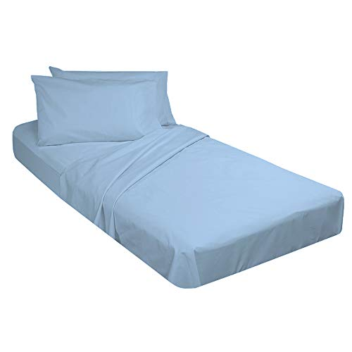 Cot Sheet and Pillow Case 4 Piece Set - 1 cot Fitted Sheet 33