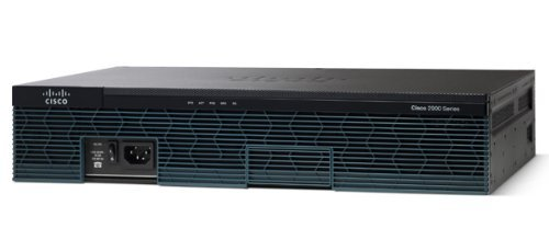 Cisco CISCO2911/K9 2911 Integrated Services Router - 4X HWIC, 2X CompactFlash (CF) Card, 2X Services