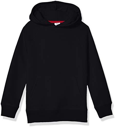 Amazon Essentials Pullover Hoodie Sweatshirt Fashion, Negro, 3 años