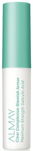 Almay Clear Complexion Blemish Armor, Hypoallergenic, Cruelty Free, Oil Free, Fragrance Free, Dermatologist Tested Acne Spot Treatment, with Salicylic Acid