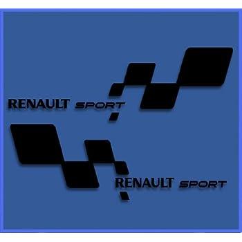 Megane 6 x Adesivi Renault Sport-Adesivi di maniglie per porte di alta qualit/à