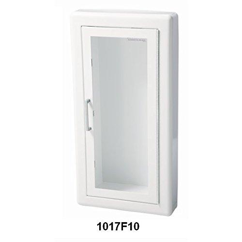 JL Industries 1017F10 Full Glass 3 inch Trim Extinguisher Cabinet