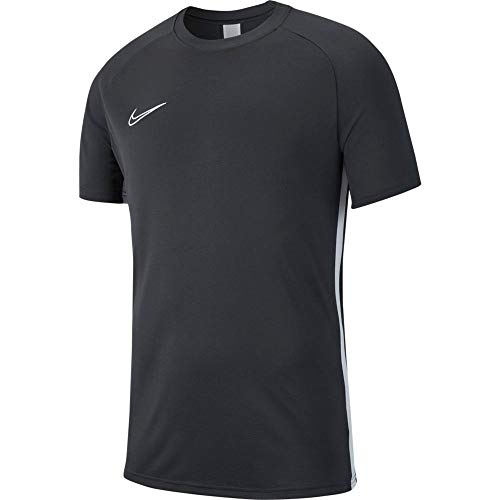 Nike Kid's Y NK DRY ACDMY19 TOP SS T-Shirt, Anthracite/White/(White), M