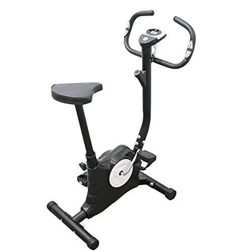 Ffitness FLC201BN - Bicicleta estática fácil de trabajar en casa con cardio Gym Fitness Trainer, equipo deportivo, entrenamiento corporal, adelgazar la celulitis, músculos y piernas resistencia
