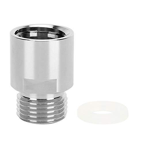 Adaptador de cilindro de soda de CO2 metálico Rosca hembra TR21-4 a rosca macho Kit de conversión CGA320 para SodaStream/Soda-Club