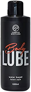 Cobeco Body lube - Lubricante base agua, 1000 ml