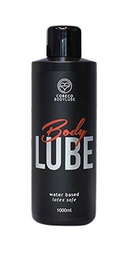 Cobeco Body lube - Lubricante base agua, 1000 ml