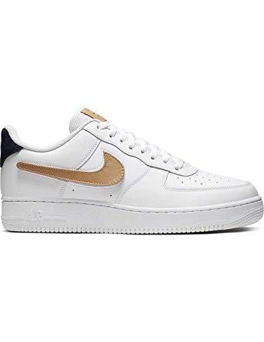 Nike Herren Air Force 1 ´07 LV8 3 Sneaker Weiß 46